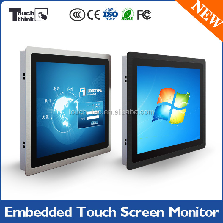 "high quality 15""five-wire analog resistive, 15 inch lcd monitor"
