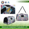 pet treat bag & bone shaped pet waste bag dispenser & foldable dog carrier