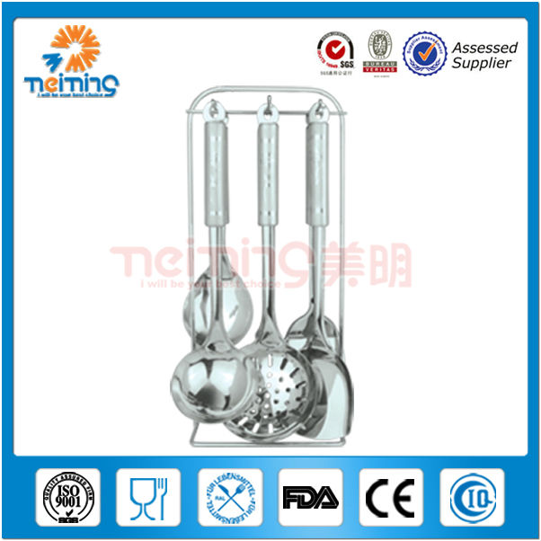 7pcs wholesale stainless steel kitchen tools and equipment, kitchen tools utensils and equipment