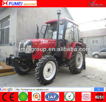 Chinese hot sale 55hp 4x4 wd farm tractor for Europe market