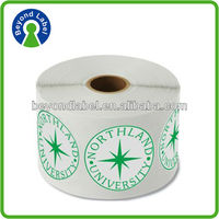 New fashion decoration combinative peel transparent pvc paper stick label package printing
