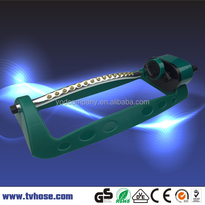 Garden irrigation plastic sprinkler amazon price oscillating sprinkler