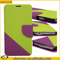 2014 Credit Card Slot PU Leather Stand Mobile Phone Case For Samsang Galaxy I9600/S5