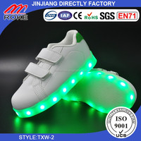 Usb charging shoes Led Kids Children Boys Girls Light Up Sneakers Babies Flat Shoes Trainers