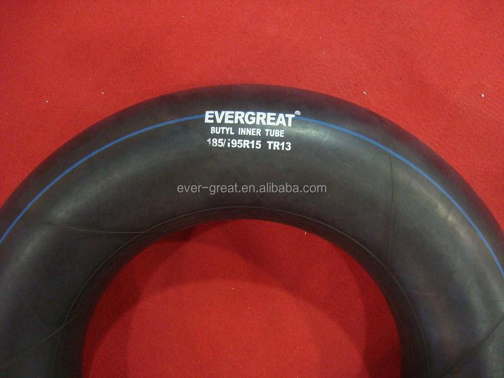 good quality butyl inner tube/car inner tube 175/185-14