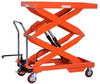 Movable hand Scissor Atv Diy Lift Table