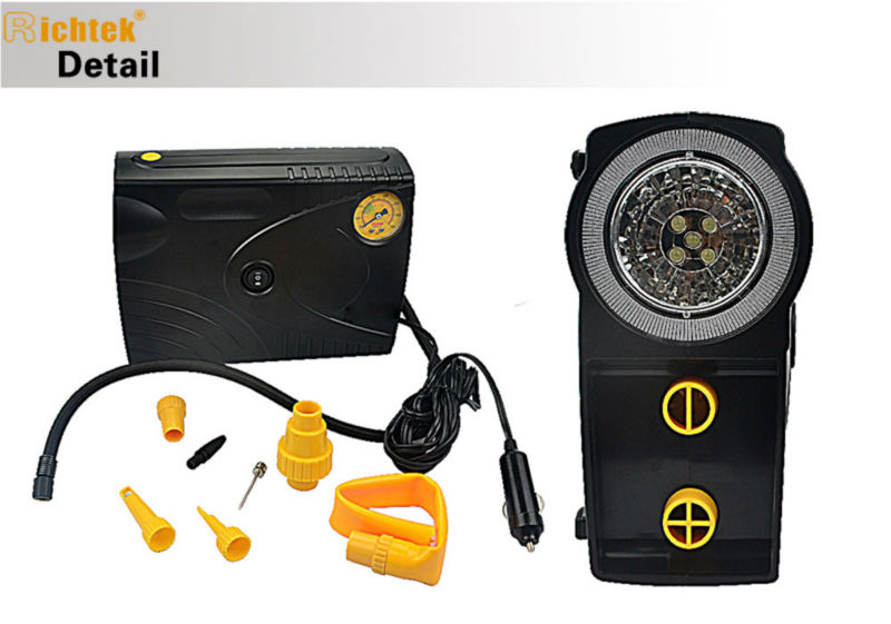 Air compressor + Inflator & Deflator/multifunctional car air compressor