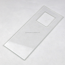 LCD screen front glass plate transparent touch screen