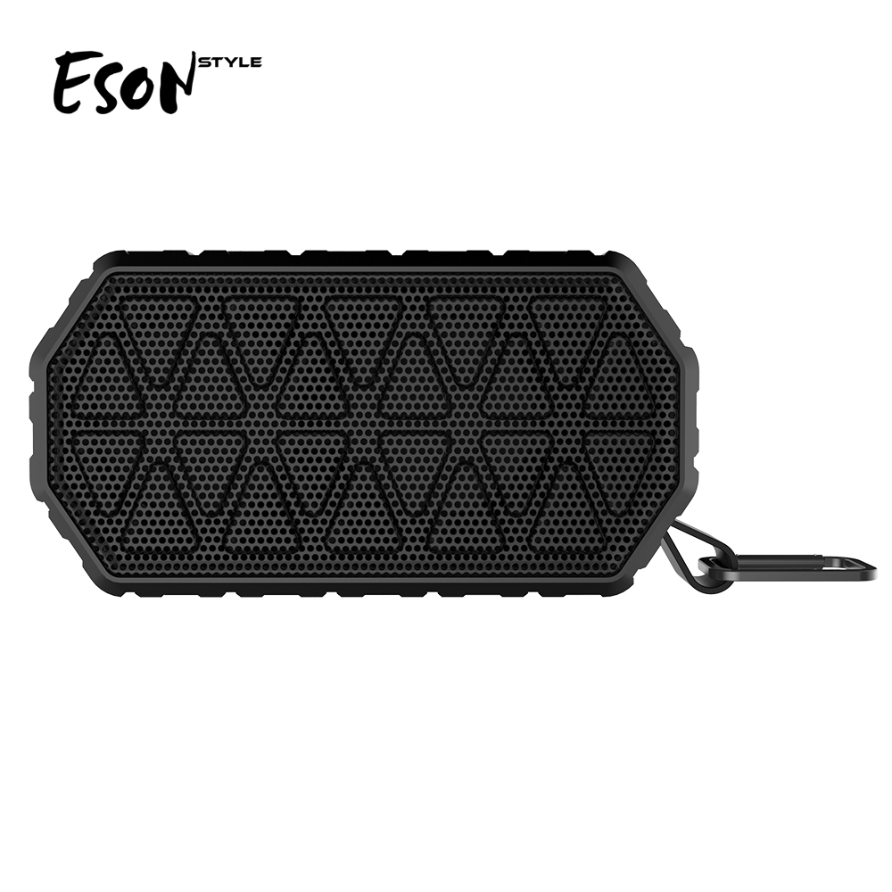 Eson Style shockproof IP66 waterproof wireless home theater system Car Portable V4.2 mini bluetooth <strong>speaker</strong>