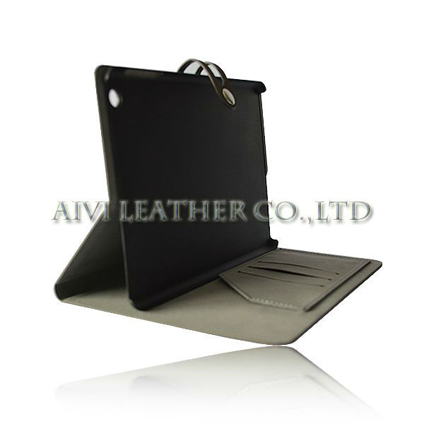 business leather case for ipad mini,stand case for apple ipad mini 2