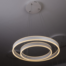 Modern Led Pendant Light Hotel Project Round Chandelier Lighting Living Room Chandelier Lamp