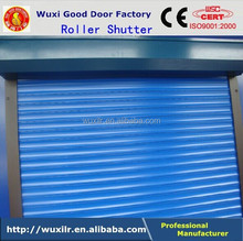 Motorized Insulated Roll-up Shutter Residential European Aluminum Rapid Rolling Shutters