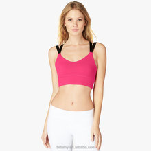 Power Luxtreme Fabric Fitness Clothing Women Wholesale Sexy Seamless Sports Bra
