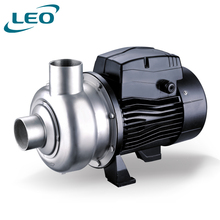 LEO Black Stainless Steel Electric Semi-Open Impeller Centrifugal Water Pump