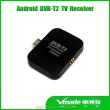 HD MPEG4 digital DVB-T2 micro usb pad tv
