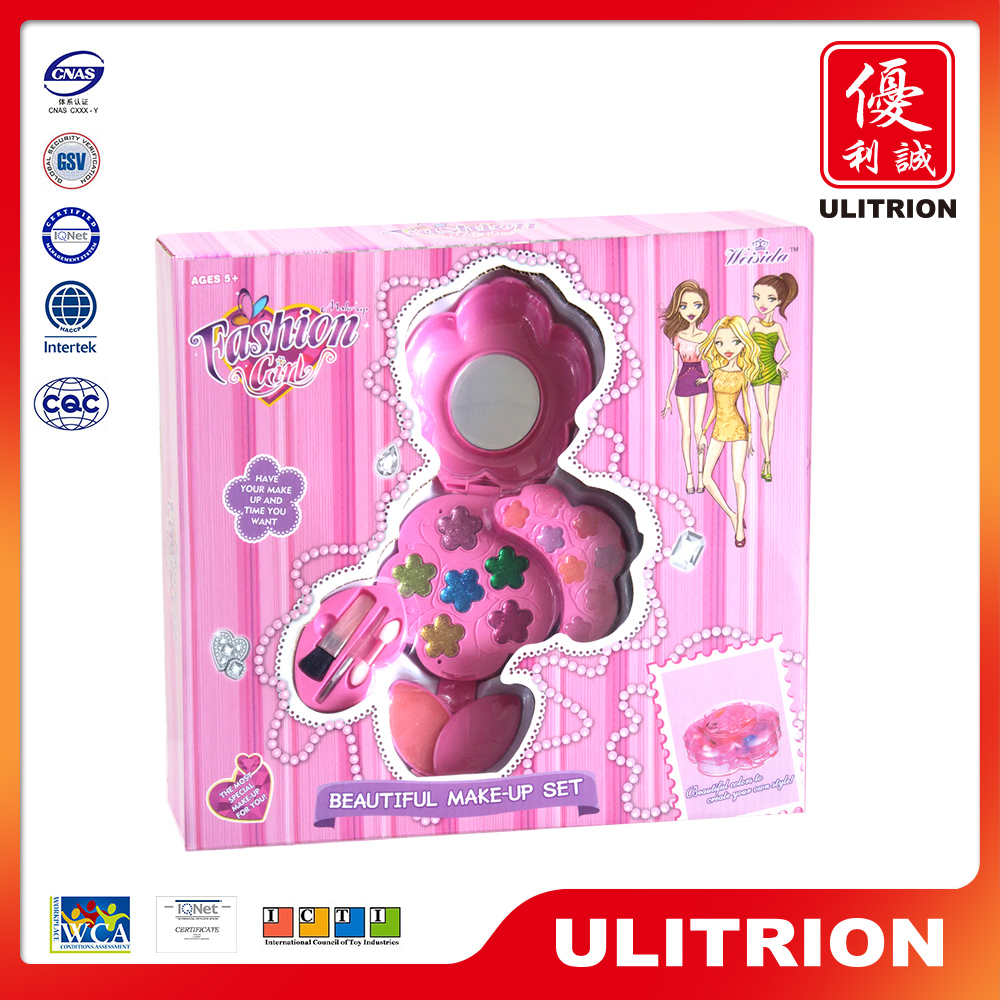 Wholesale baby make-up toy set, make up set girl game for girl