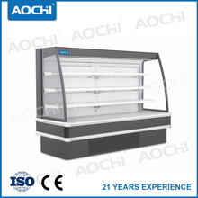 High Quality commercial Open Multideck /vertical display refrigerator