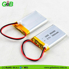 603450 recharge battery 3.7v li-ion battery 1000mah lithium polymer batteries
