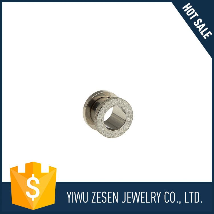 New selling OEM quality stainless steel ear tunnel plug body piercing jewelry