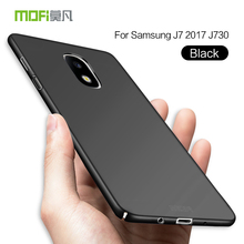 Mofi Simple Fashion Plain Phone Case Cover for Samsung J7 2017 J730 Thin PC Hard Case for Galaxy J3 J330 J5 J530 2017