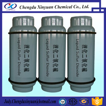 High purity liquid sulfur dioxide