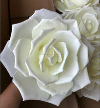 High quality giant artificial foam flowers for wedding decoration flower wall