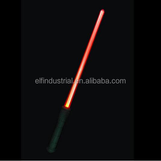 Music and light toy cosplay led flashing sword color changing led flashing saber with sound