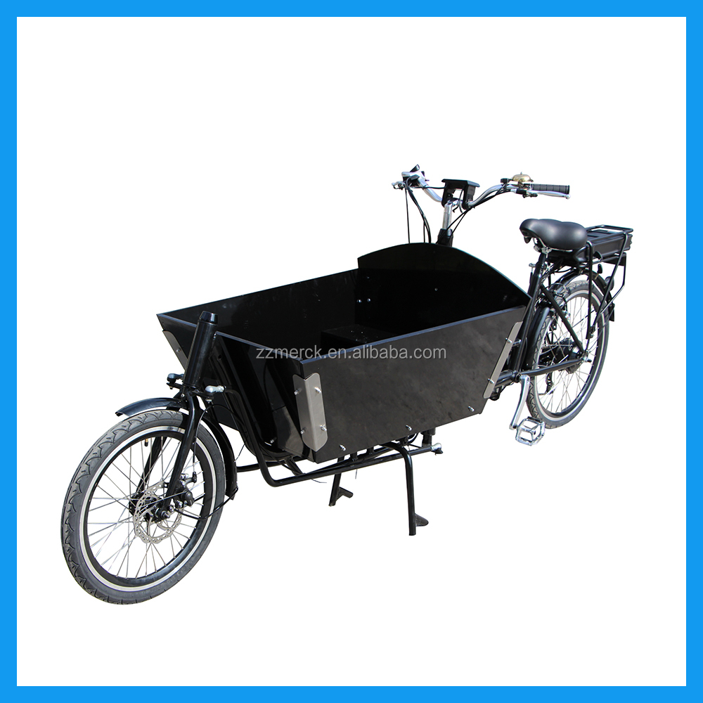 Factory Manufacture Bakfiets 2 Wheel Electric Cargo Bicycle For Sale