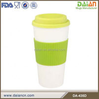 16oz double wall insulated microwave safe plastic coffee mugs