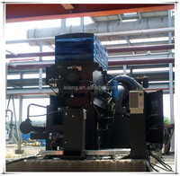 Turbo air compressor for steam and centrifugal
