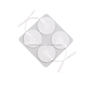 CE Certificated Round shape self-adhensive tens electrode pads for muscle stimulator digital therapy machine