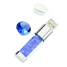 newest design Crystal USB 2.0 Memory Stick Flash Pen Drive 4GB 8GB