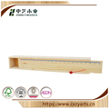 China wood factory handmade cheap unfinished small pine wood pencil boxes