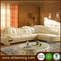 royal furniture french style modern leather sofa set