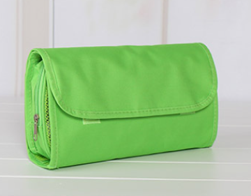 Wholesale price fashion travel roll up cosmetic bag china supplier