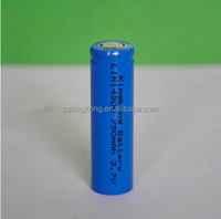 cylindrical lithium ion rechargeable 14500 3.7v 750 mah battery