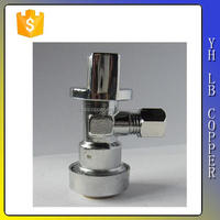 (2C-JE302) Straight Stop Brass Electroplating Chromium Mini Ball Angle Valve