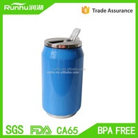 Promotional BPA free stainless steel travel bottle with leak-proof cap