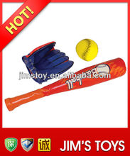 wholesale plastic mini baseball bats and baseball glove