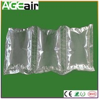 Hot Sale High Quality air cushion film/air filled cushion bags wiht biodegradable material