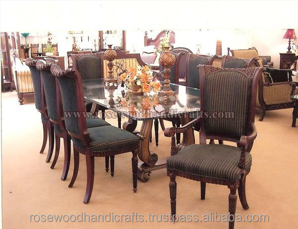 Wooden Dining Table, Rosewood Dining Table , Dining Table Set , Wooden Furniture