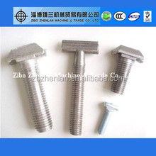 Carbon/Stainless Steel Din933 Diameter M8 T Head Bolt And Nut