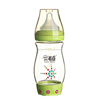 Customized Music Baby Bottle BPA Free With Food Grade Silicone Nipple