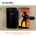 Newest Diy Leather Sublimation Phone Case for Google Pixel 5.0