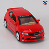 pull back diecast metal and plastic car model in 1:36 scale