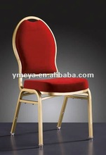 2012 Foam back fabric chair, Metal Chair (YT2024)