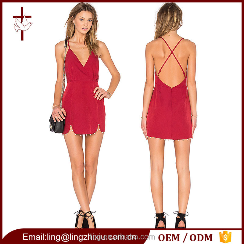 2016 dew backless sexy mature women hot girl sexy mini club dress