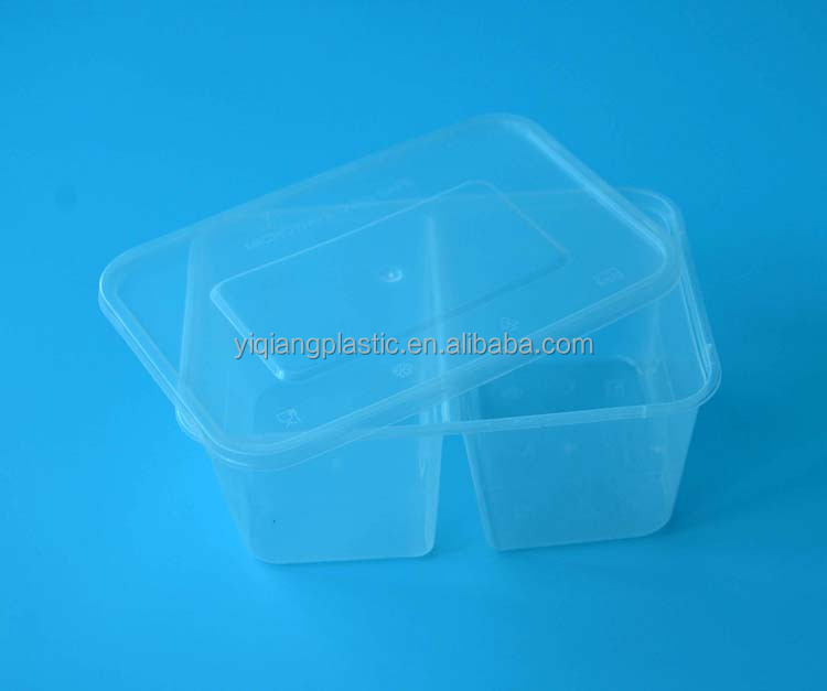 Restaurants take out disposable food plastic cover packing containers