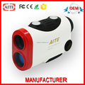 400m white and red laser range finder scope and speed finder for hunting