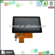 800x480 high resolution 5 inch lcd multi touch monitor capacitive touch in bus